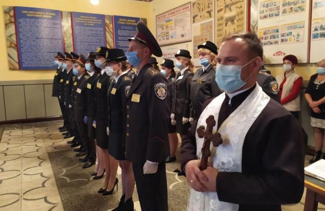 Капелан УГКЦ благословив службовців Державної кримінально-виконавчої служби, які склали присягу