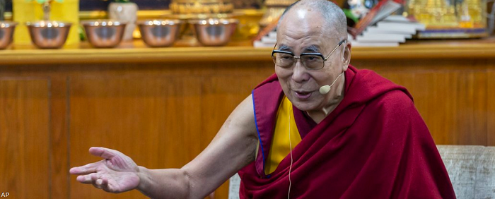 Духовний лідер Тибету вперше провів зустріч з українцями в прямому ефірі