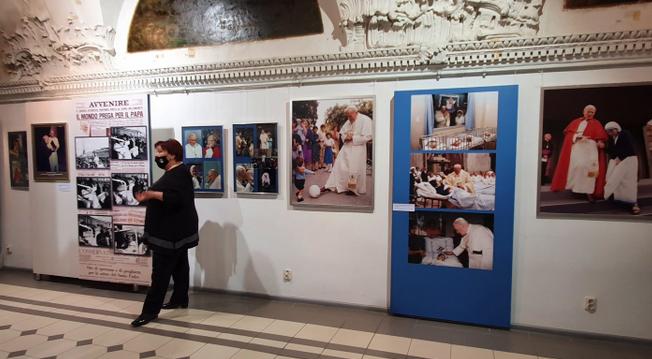 У Львові відкрили виставку до сторіччя святого папи Івана Павла ll