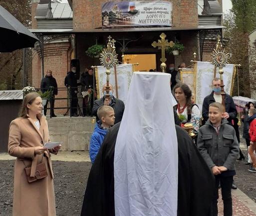 У Тернополі відкрили пам'ятник священнику УГКЦ і освятили новий храм