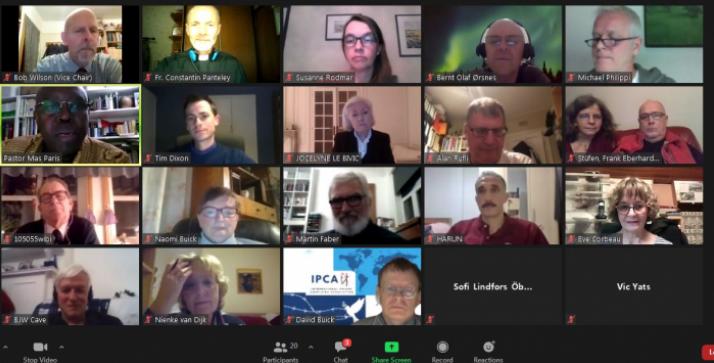 Священник УГКЦ взяв участь у вебінарі Міжнародної асоціації в