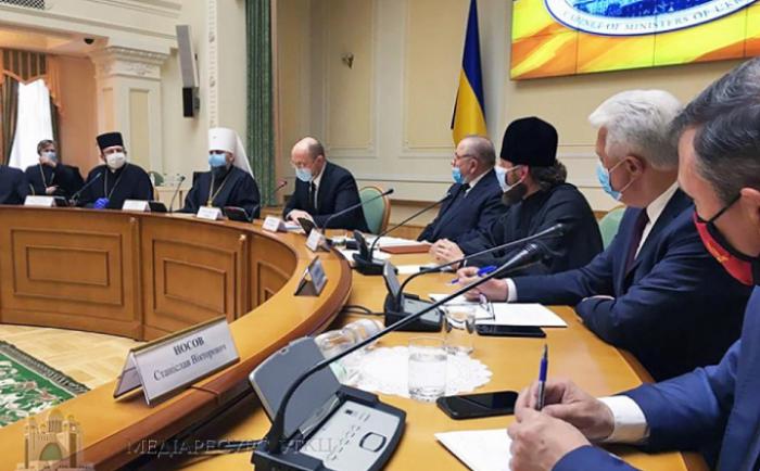 Рада Церков обговорила з прем'єр-міністром співпрацю у подоланні епідемії