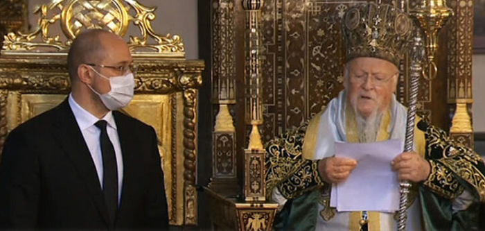 Патріарх Варфоломій хоче відвідати Україну у серпні 2021 року