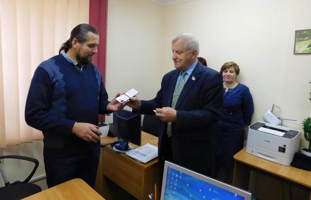 Священник УПЦ (МП) став членом Національної спілки журналістів України
