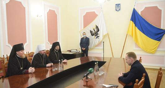 Глава ПЦУ обговорив з керівництвом Чернігова та області релігійну та міжконфесійну ситуацію