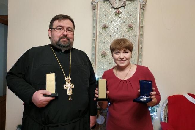 Директор благодійного фонду УГКЦ отримав відзнаку міського голови Житомира