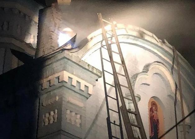 На Тернопільщині врятували від пожежі церкву УПЦ (МП)