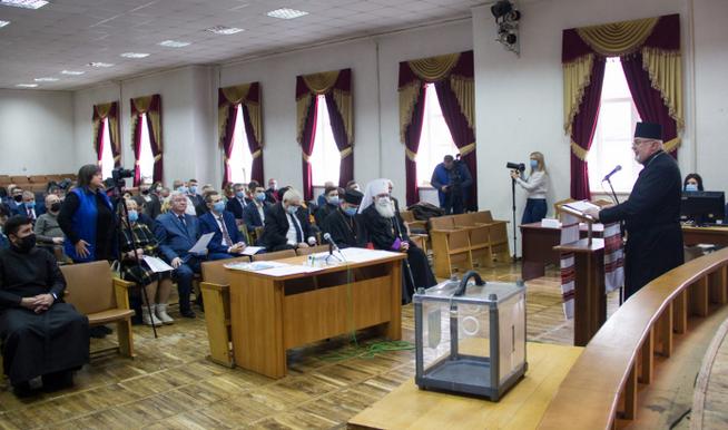 Єпископ УГКЦ благословив першу сесію Стрийської районної ради