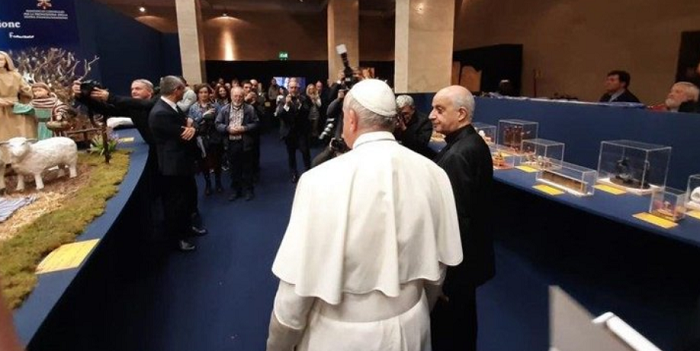 У Ватикані відкрили український вертеп
