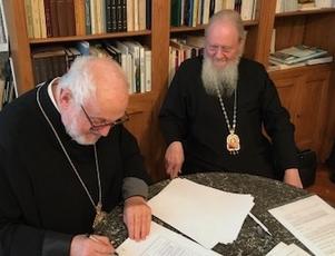 Угоду про єдність підписали ієрархи РПЦ і Константинополя в Парижі