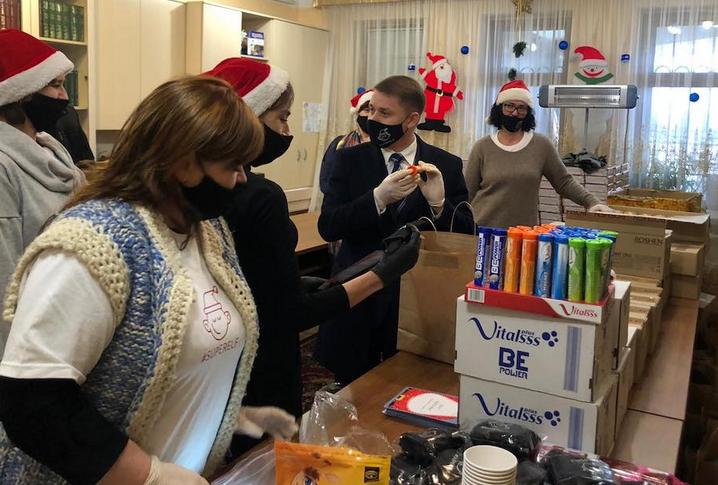 ПЦУ і українці діаспори організували свято для 350 дітей Рівненщини