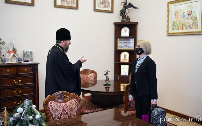 Митрополит Епіфаній обговорив з послом України в Північній Македонії міжнародну ситуацію та міжконфесійні взаємовідносини