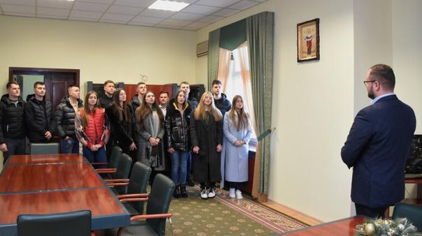 Прихожани церкви «Спасіння» колядували разом з Луцьким міським головою