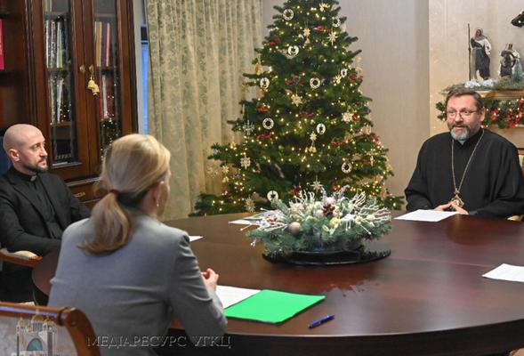 Глава УГКЦ обговорив з міністеркою у справах ветеранів України подальшу співпрацю