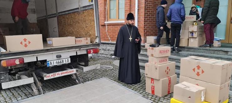 УПЦ (МП) передала 600 подарунків дитячим будинкам Донбасу