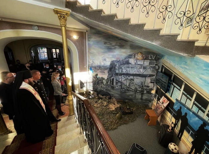 Єпископ ПЦУ взяв участь у відкритті діорами пам'яті героїзму в Одесі