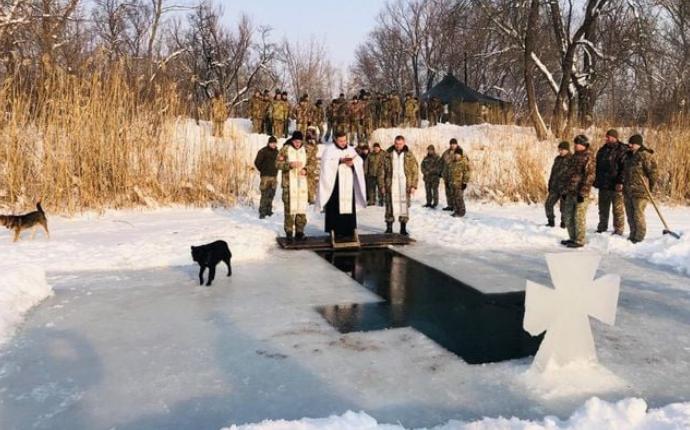 Священники УГКЦ з Тернопільщини провели різдвяні свята в зоні ОСС