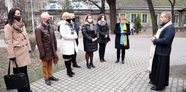В Посольстві України в Угорщині обговорили спорудження храму УГКЦ у Будапешті