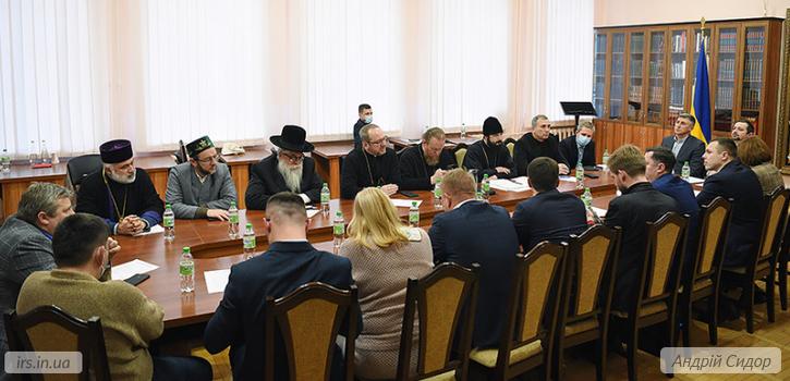Всеукраїнська Рада Церков розвиває взаємодію з міжфракційним об'єднання парламентарів
