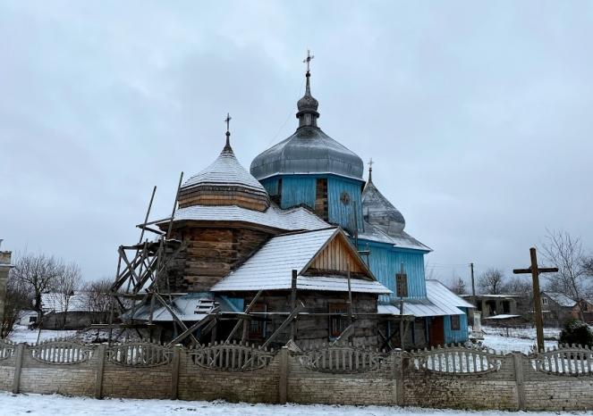 На Львівщині планують відреставрувати церкву XVIII століття