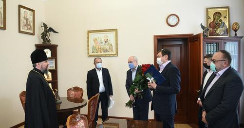 Керівництво України привітало главу ПЦУ з річницею інтронізації та днем народження