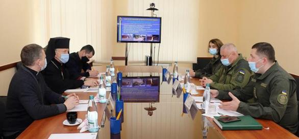 Єпископ УГКЦ відвідав Західне територіальне управління Нацгвардії України