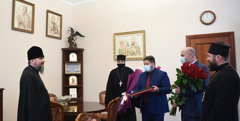 Глава ПЦУ обговорив з міським головою Білої Церкви епідеміологічну ситуацію і підтримку та розвиток української мови