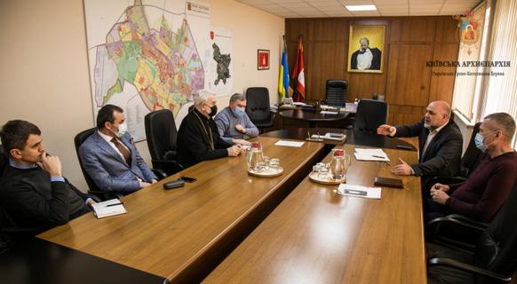 Єпископ УГКЦ обговорив з мером Білої Церкви земельне питання вірян