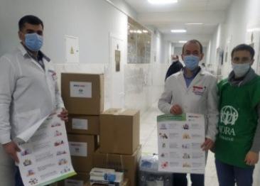 30 медичних закладів України отримали допомогу від адвентистів