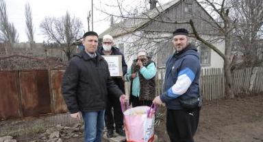 Мусульмани зібрали за три дні 4,5 тонни продуктів нужденним Херсонщини