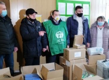 Адвентисти передали медичне обладнання центрам первинної допомоги Черкащини