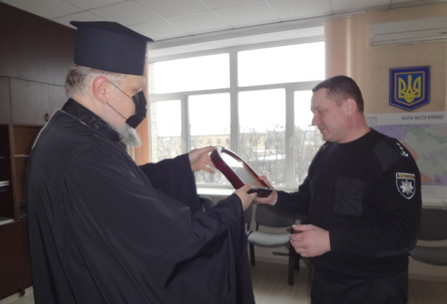 Архієпископ ПЦУ обговорив з очільником поліції Вінниці можливість співпраці