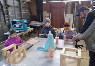 Священник УГКЦ виграв грант та оновив деревообробну майстерню для дітей