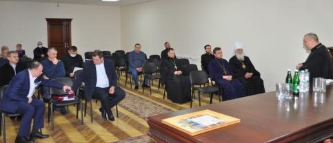 У Західному управлінні з питань виконання кримінальних покарань Мінюсту презентували «Молитовник для засуджених»
