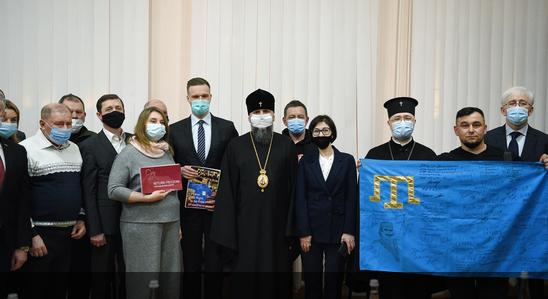 Глава ПЦУ обговорив з дипломатами України, Литви та родичами ув
