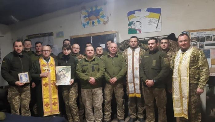 Відбулася чергова духовна місія священників УГКЦ у зоні ОСС