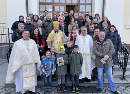 Єпископ УГКЦ благословив будівництво реабілітаційного центру в Кишиневі