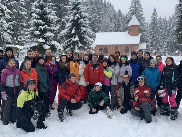 Греко-католики провели молодіжний зимовий табір «Драгобрат»