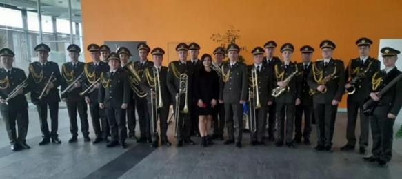 Оркестр Навчального центру академії сухопутних військ виступив в Українському католицькому університеті