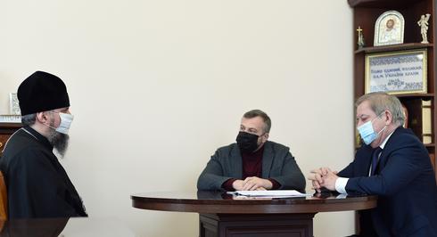 Глава ПЦУ обговорив з представниками Національного форуму «Трансформація України» проєкт закону про військове капеланство