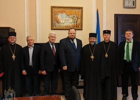 Представники Ради Церков обговорили з першим заступником голови парламенту організацію національних обговорень з питань розвитку держави