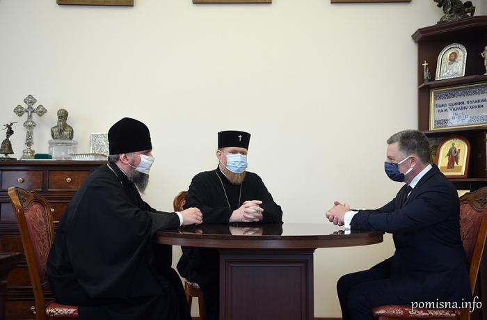 Глава ПЦУ обговорив з Куртом Волкером міжконфесійні й державно-церковні відносини в Україні та порушення релігійної свободи на окупованих Росією територіях