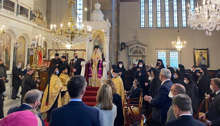 Делегація ПЦУ взяла участь в інтронізації митрополита Халкидонського Константинопольського Патріархату
