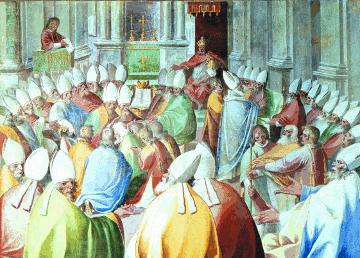 Собор великого Фотія 879-80 рр. і його орос як основа  для об'єднання розділених християн