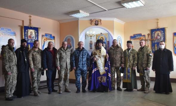 Єпископ УГКЦ святив на Одещині каплицю для військовослужбовців