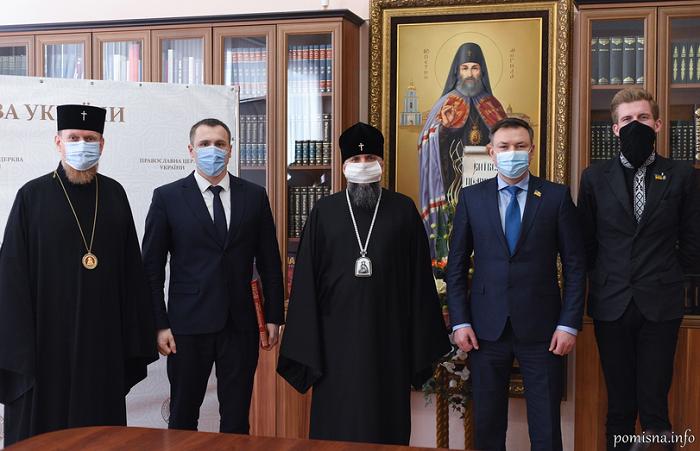 Глава ПЦУ обговорив з депутатами проєкт Закону про Службу військового капеланства
