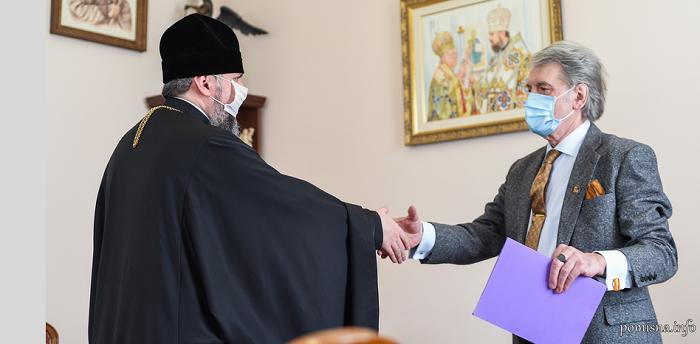 Митрополит Епіфаній обговорив з Віктором Ющенком становлення ПЦУ та міжконфесійну ситуацію в країні
