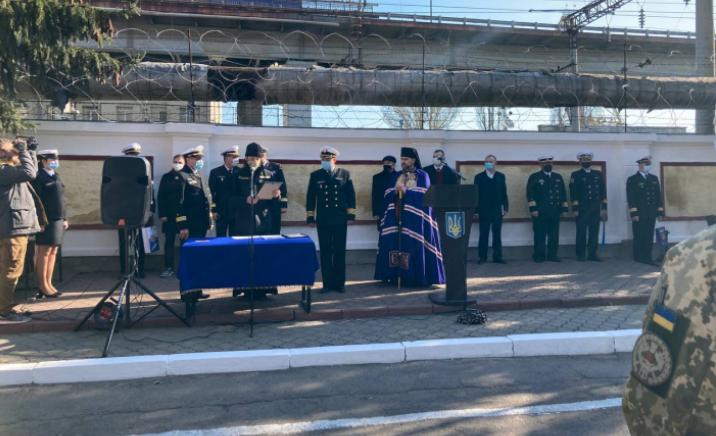 Єпископ УГКЦ разом з військовими святкував 27-у річницю створення військово-морської бази «Південь»