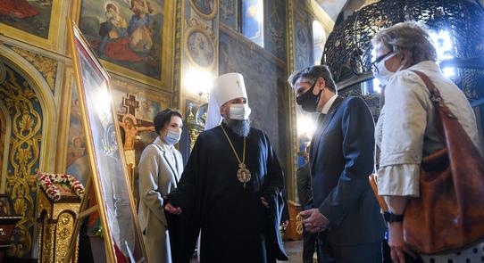 Глава ПЦУ і держсекретар США обговорили питання свободи совісті в Україні