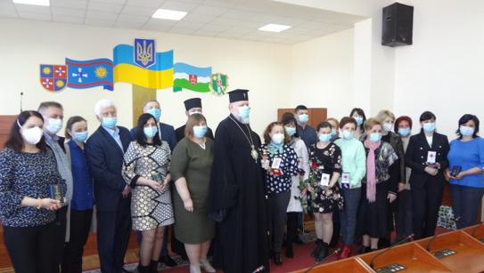 ПЦУ відзначила лікарів Вінниччини, які знаходяться на передовій у боротьбі з коронавірусною хворобою